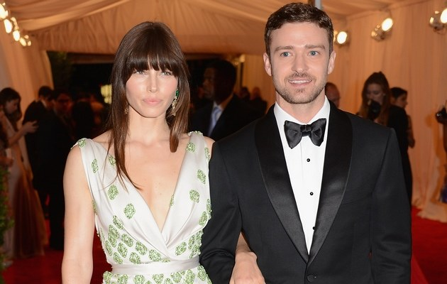 Jessica Biel i Justin Timberlake /Larry Busacca /Getty Images