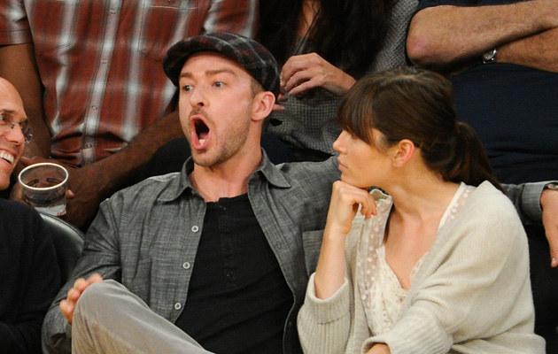 Jessica Biel i Justin Timberlake /Noel Vasquez /Getty Images