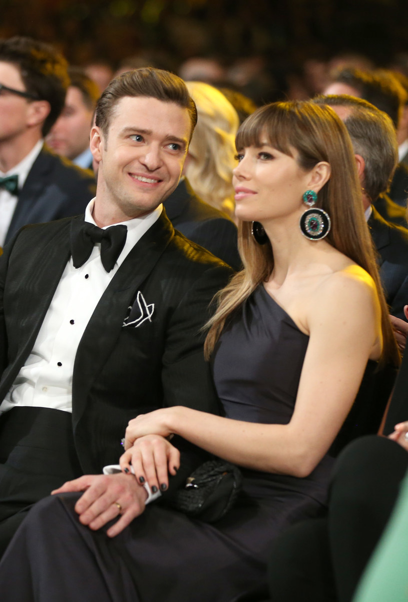 Jessica Biel i Justin Timberlake /Christopher Polk /Getty Images