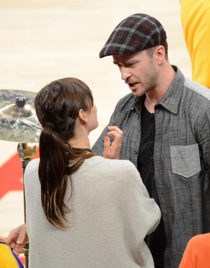 Jessica Biel i Justin Timberlake /Kevork Djansezian /Getty Images