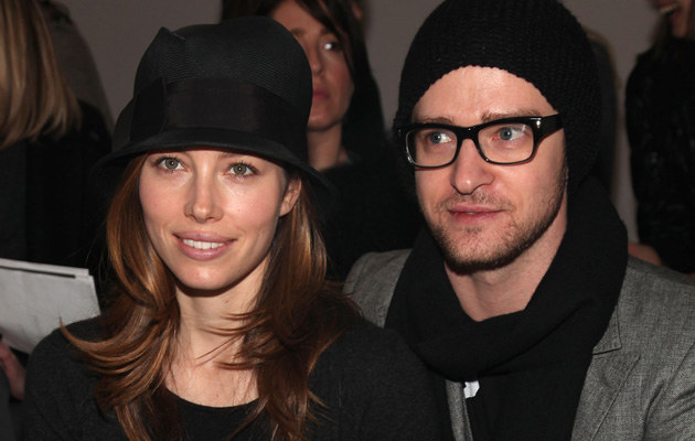 Jessica Biel i Justin Timberlake /Astrid Stawiarz /Getty Images