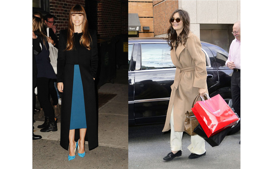Jessica Biel i Katie Holmes /East News