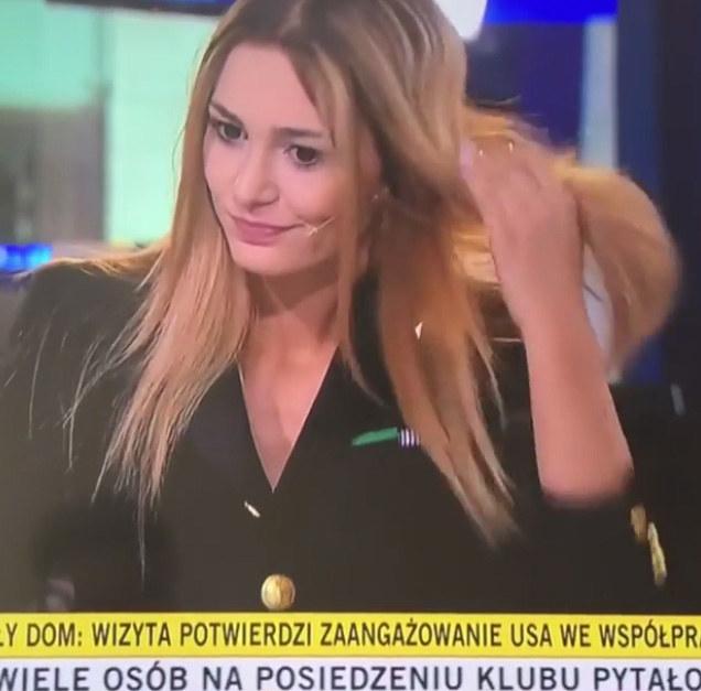 Jessica była gościem w programie na żywo /TVN24