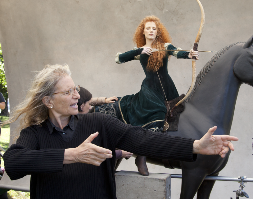 Jessica Chastain pozuje Annie Leibovitz /Getty Images