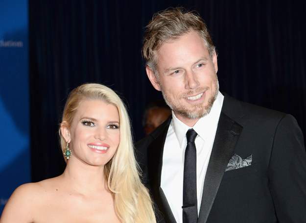 Jessica Simpson i Eric Johnson /Getty Images