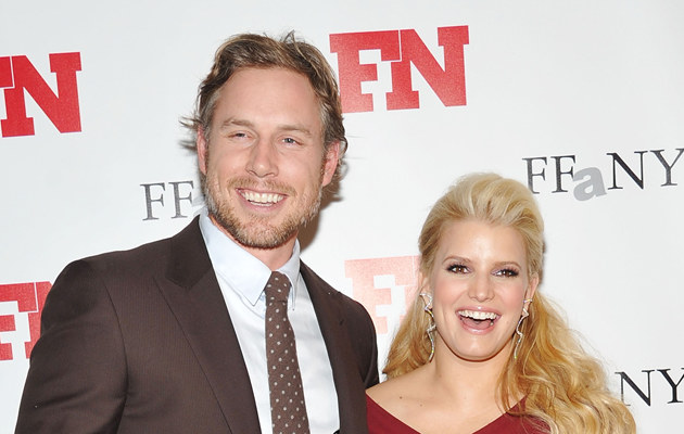 Jessica Simpson i Eric Johnsson /Mike Coppola /Getty Images