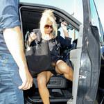 Jessica Simpson w za krótkiej sukience!