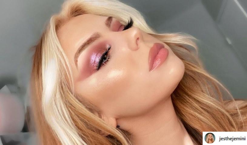 Jessy Volk uwielbia make-up, ale równie dobrze czuje się bez makijażu /instagram.com/jesthejemini /Instagram