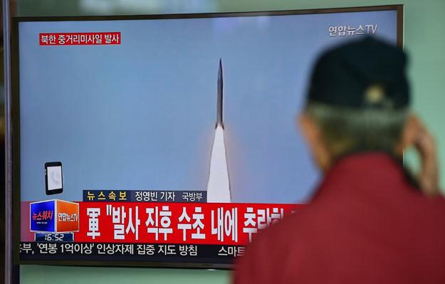 """""""Jest bardzo prawdopodobne, że próba ta była nieudana. Biorąc to pod uwagę Korea Płd. i Stany Zjednoczone przeprowadzają szczegółową ocenę sytuacji"""" /AFP"""