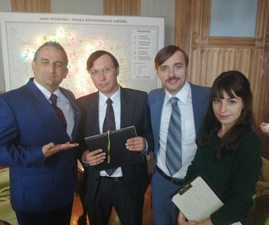 """Jest pierwsze zdjęcie Agnieszki Więdłochy z planu filmu """"Gierek"""""""