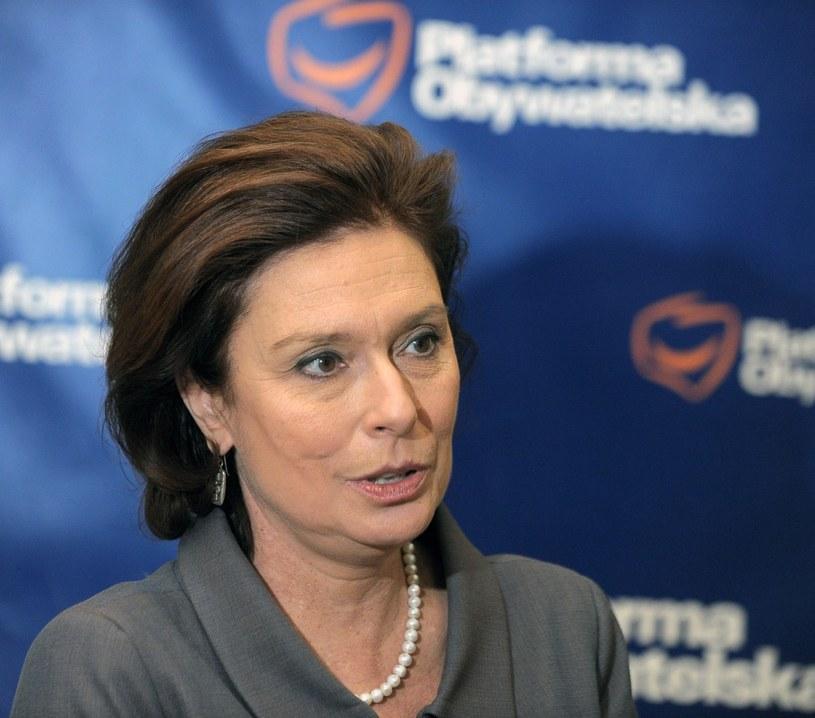 Jest problem z miejscem na liście dla Małgorzaty Kidawy-Błońskiej? /Jan Bielecki /East News