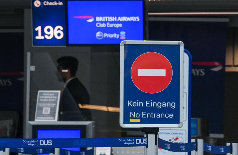 Jest rekomendacja Brukseli w sprawie lotów z Wielkiej Brytanii. /INA FASSBENDER / AFP /East News