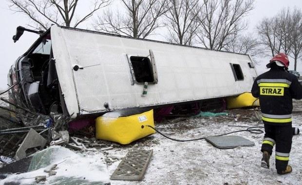 Jest śledztwo w sprawie wypadku autokaru z kibicami Lechii