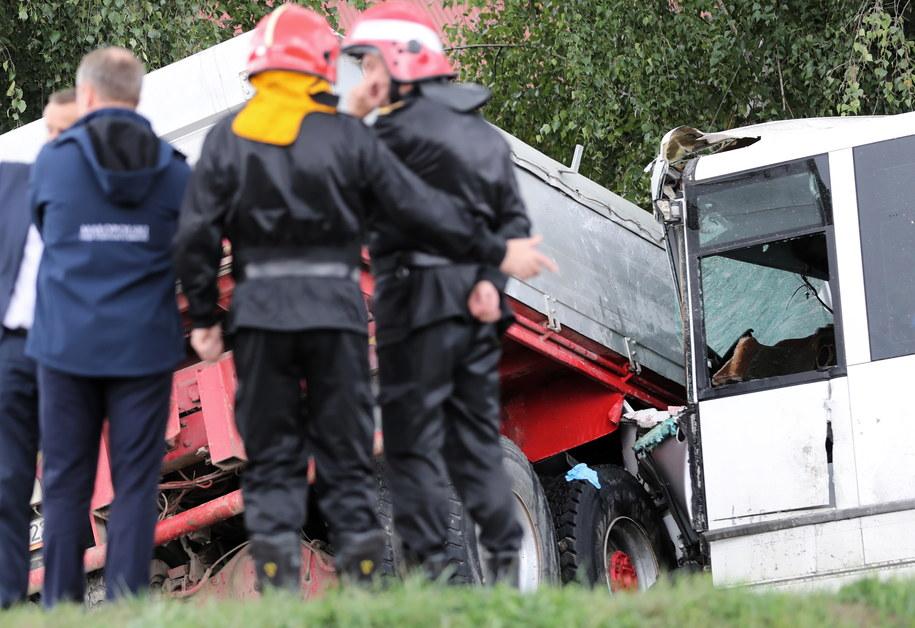Jest śledztwo ws. wypadku w Świniarsku / Grzegorz Momot    /PAP