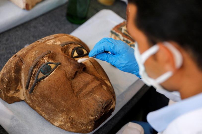 Jest to największe w tym roku odkrycie tego typu w Egipcie /REUTERS/Mohamed Abd El Ghany /Agencja FORUM