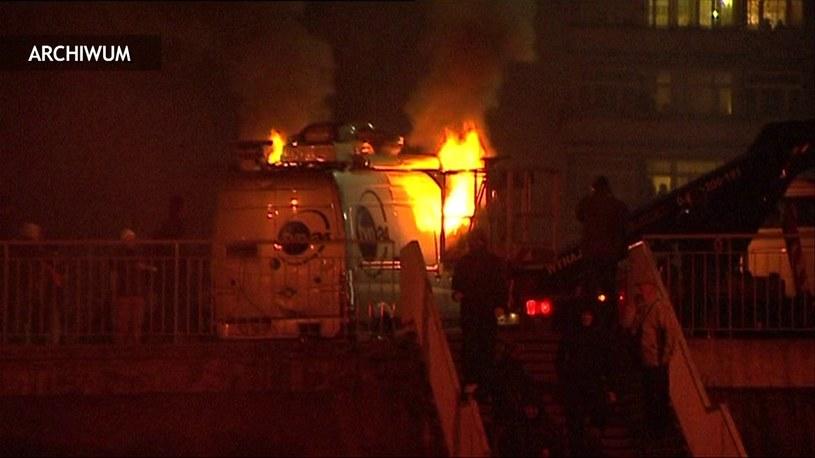 Jest wyrok za spalenie wpzu TVN24 /TVN24/x-news