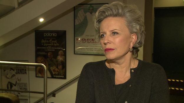 """""""Jestem osobą publiczną, muszę się na to zgodzić"""" - tak Krystyna Janda reaguje na władzę tabloidów. /Newseria Lifestyle"""