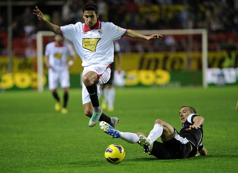Jesus Navas zostawił Sevillę dla Manchesteru City /AFP
