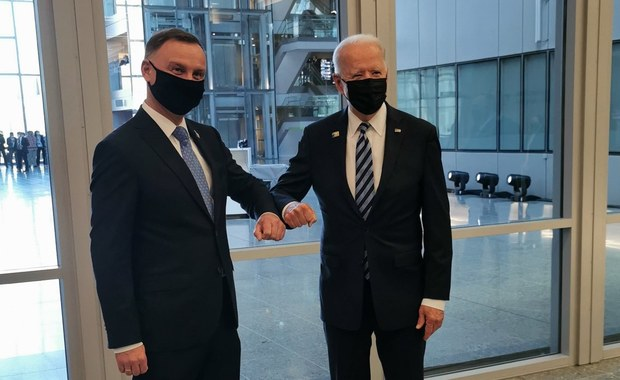 Jeszcze w tym miesiącu spotkanie Duda - Biden? Kancelaria o to zabiega
