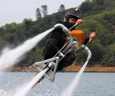Jetovator - odrzutowy rower wodny