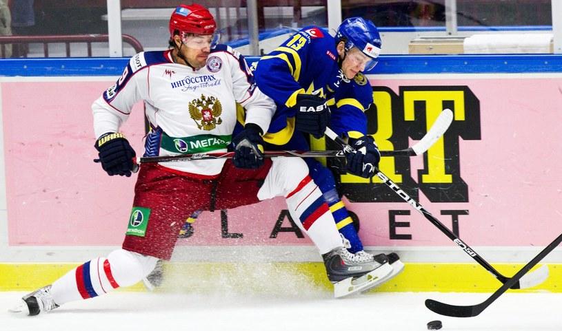 Jewgienij Artiuchin (z lewej) /AFP