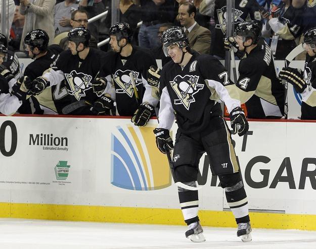 Jewgienij Małkin z Pittsburgh Penguins /AFP