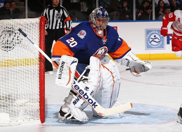 Jewgienij Nabokow z New York Islanders /AFP