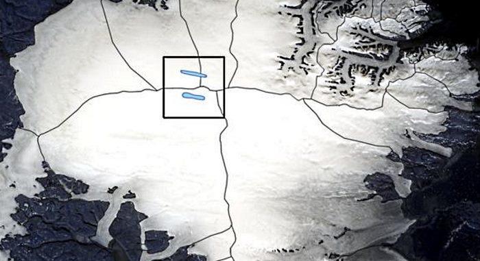 Jeziora maja znajdować się na wysokości ponad 1200 m nad poziomem morze. Fot. NASA/Anja Rutishauser /materiały prasowe