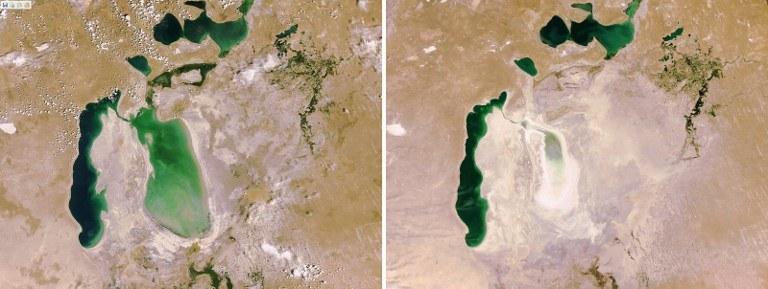 Jezioro Aralskie /AFP