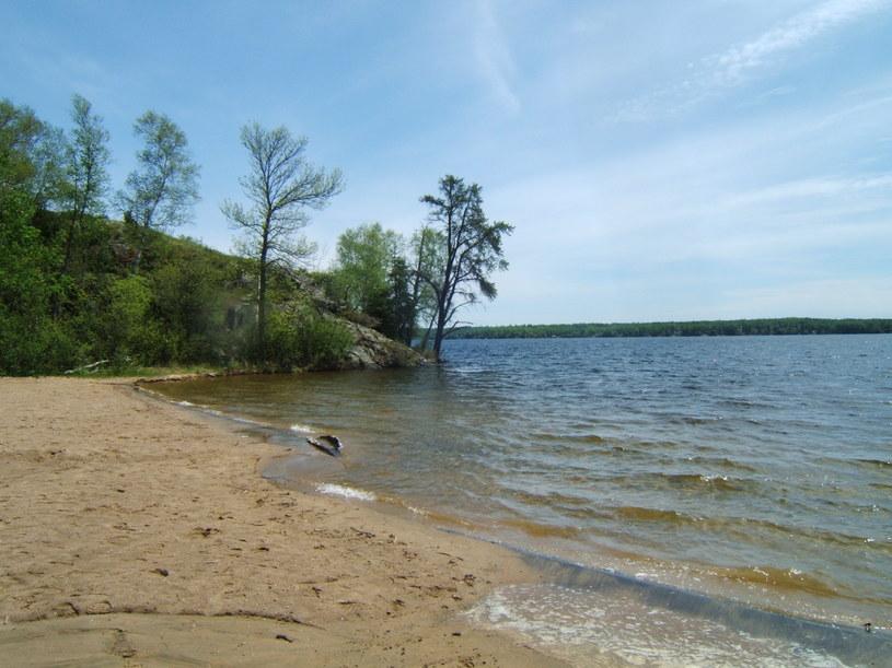 Jezioro Falcon, zdjęcie z 2013 roku Fot. Jd.101 /Wikipedia