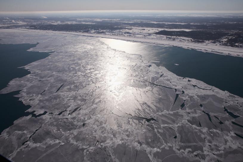 Jezioro Michigan od lat skrywa w swoich wodach wiele tajemnic /Getty Images