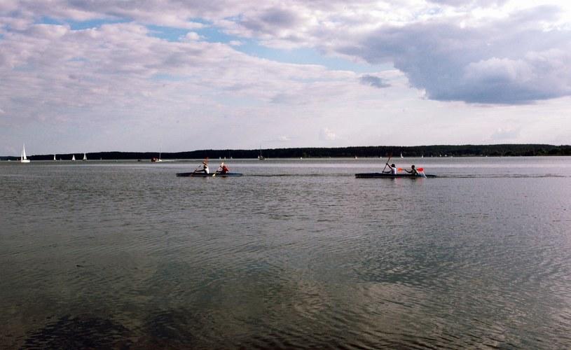 Jezioro Niegocin /Baranski/REPORTER /East News