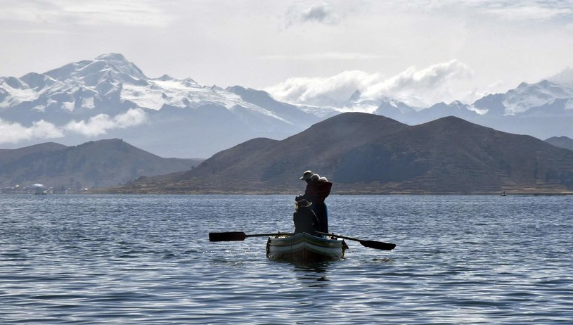Jezioro Titicaca /AFP