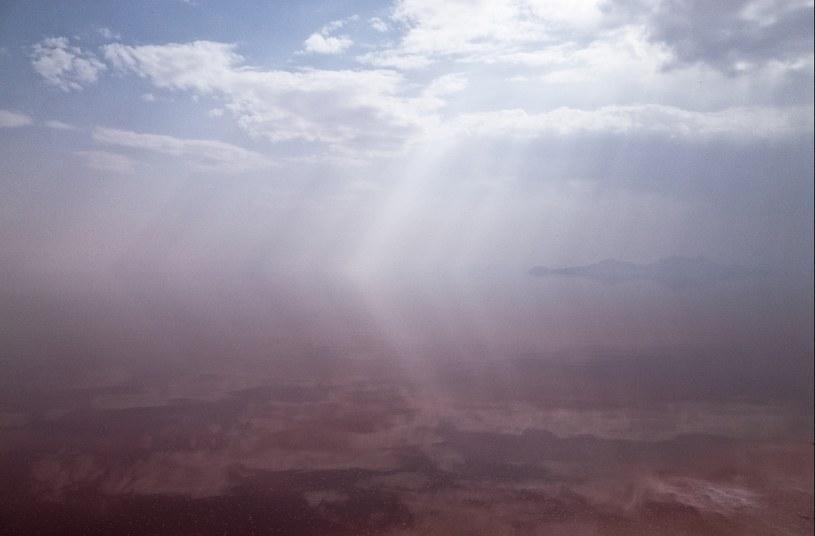 Jezioro Urmia było do niedawna jednym z największych jezior na świecie /Tomasz Padło/ Freelancer /