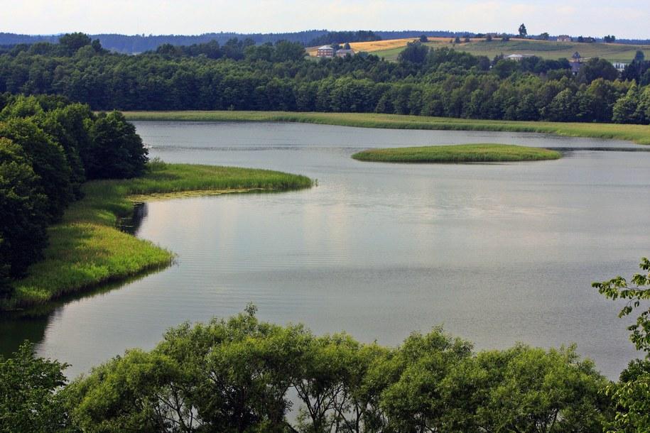 Jezioro Wigry /Jerzy Ochoński   /PAP