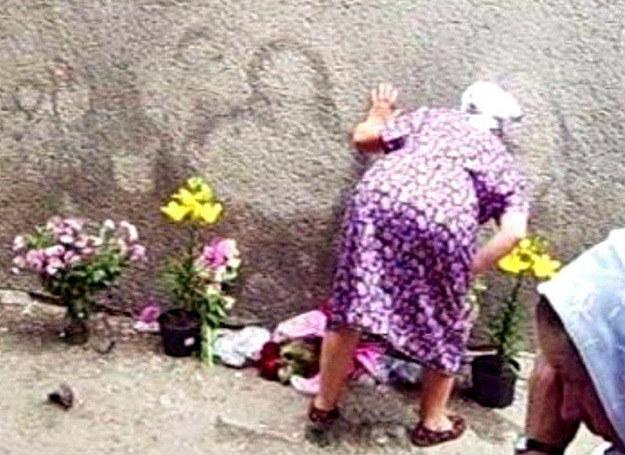 Jezus z fabrycznej ściany na Ukrainie /MWMedia