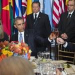 Język dyplomacji - od historycznego przywitania po wspólny obiad Dudy, Obamy i Putina
