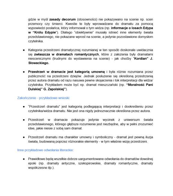 Język polski, poziom rozszerzony /INTERIA.PL