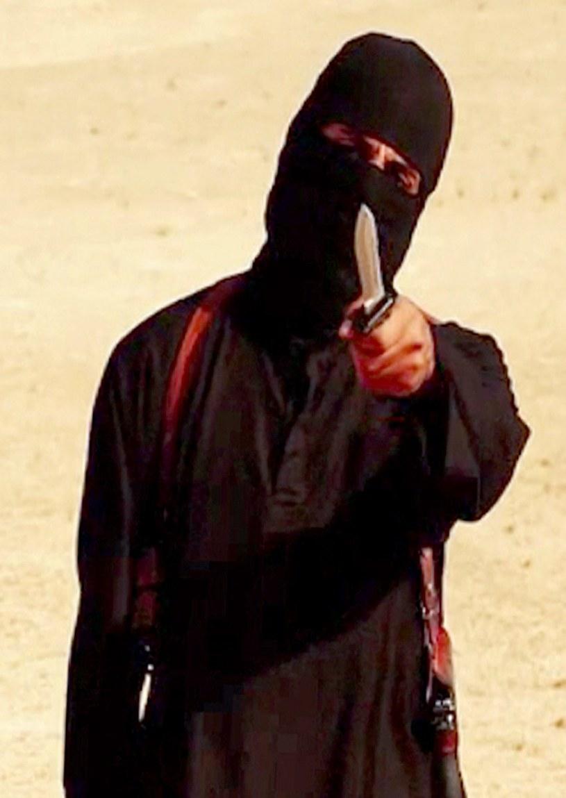 """""""Jihadi John"""" odpowiada za egzekucje zakładników dżihadystów /AFP"""