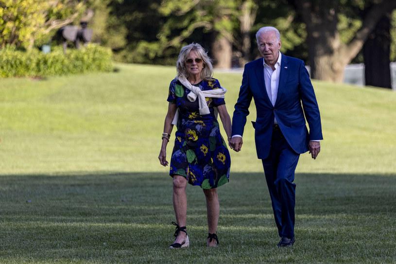 Jill Biden wie, że dodatki mają znaczenie /TASOS KATOPODIS/Getty AFP /East News