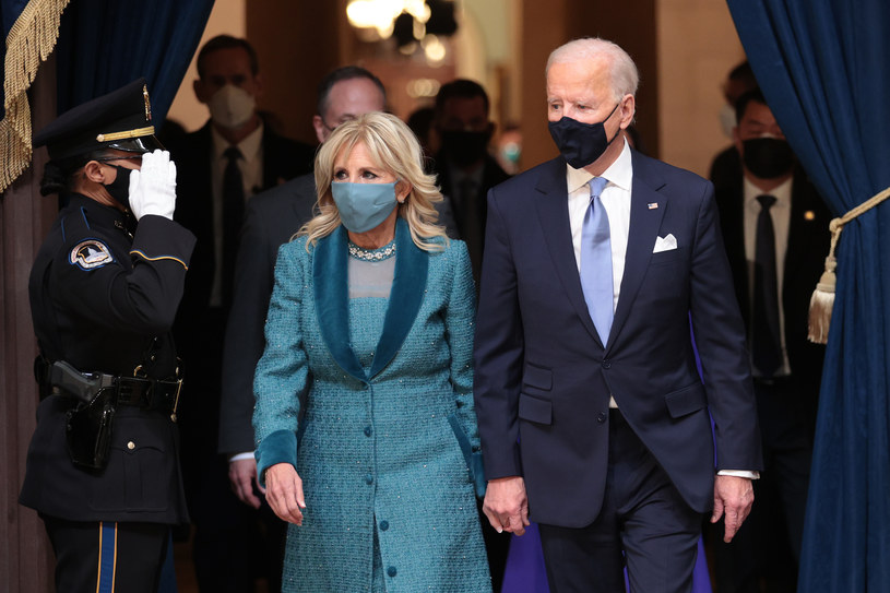 Jill i Joe Biden /AFP