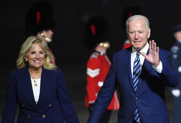 Jill i Joe Biden /NEIL HALL / POOL /PAP/EPA
