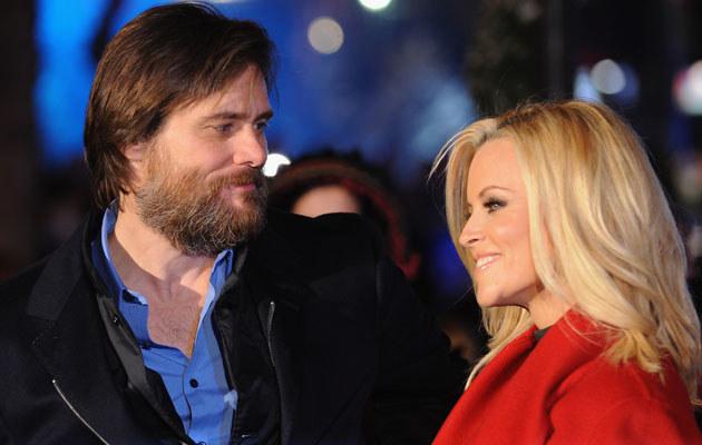 Jim Carrey i Jenny McCarthy, fot. Ian Gavan  /Getty Images/Flash Press Media