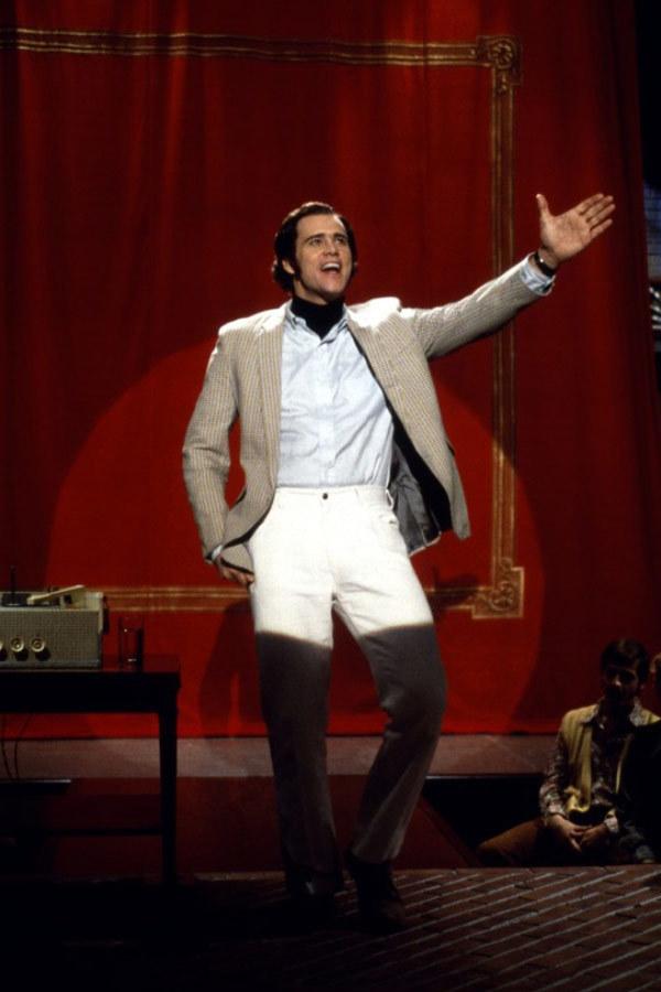 """Jim Carrey w filmie """"Człowiek z księżyca"""" /materiały dystrybutora"""