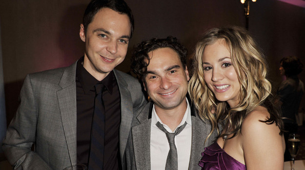 Jim Parsons, Johnny Galecki i Kaley Cuoco /Kevin Winter /Getty Images