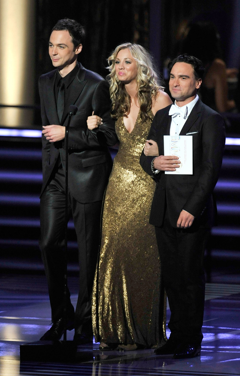 Jim Parsons, Kaley Cuoco i Johnny Galecki /Kevin Winter /Getty Images