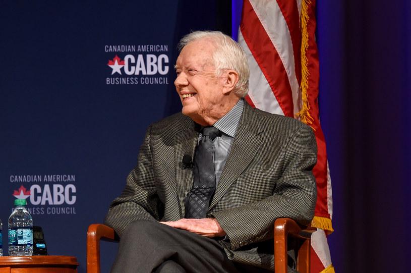 Jimmy Carter był prezydentem USA z ramienia Demokratów w latach 1977-1981 /Rick Diamond /AFP