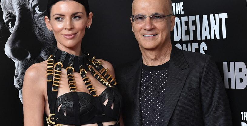 Jimmy Iovine z żoną Liberty Ross /AFP