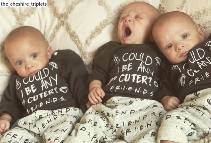 Jimmy, Jensen i Jaxson urodzili się 26 kwietnia 2021 roku /Instagram