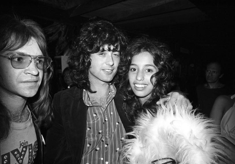 Jimmy Page i Lori Maddox na początku lat 70. /Michael Ochs Archives /Getty Images